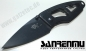 Preview: Sanrenmu 614 EDC Messer Black Magic