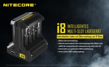 Nitcore Intellicharger I8